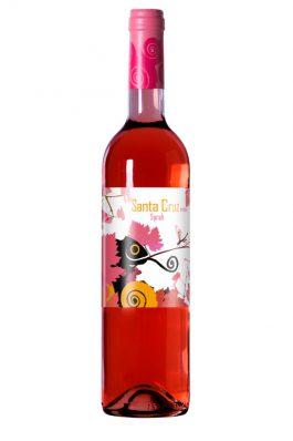 Santa Cruz de Alpera Syrah Rosé Wine