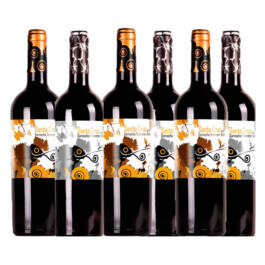 PACK 6 BOTELLAS SANTA CRUZ DE ALPERA ROBLE GT Y CRIANZA