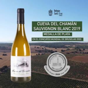 Cueva del Chamán Sauvignon Blanc 2019, Plata en el Concurso Mundial de Bruselas