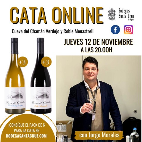 Bodega Santa Cruz de Alpera estrena nueva cata online el próximo 12 de noviembre en Facebook e Instagram