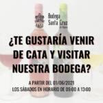 ¡Apúntate a las visitas y catas de vinos en Bodega Santa Cruz de Alpera!